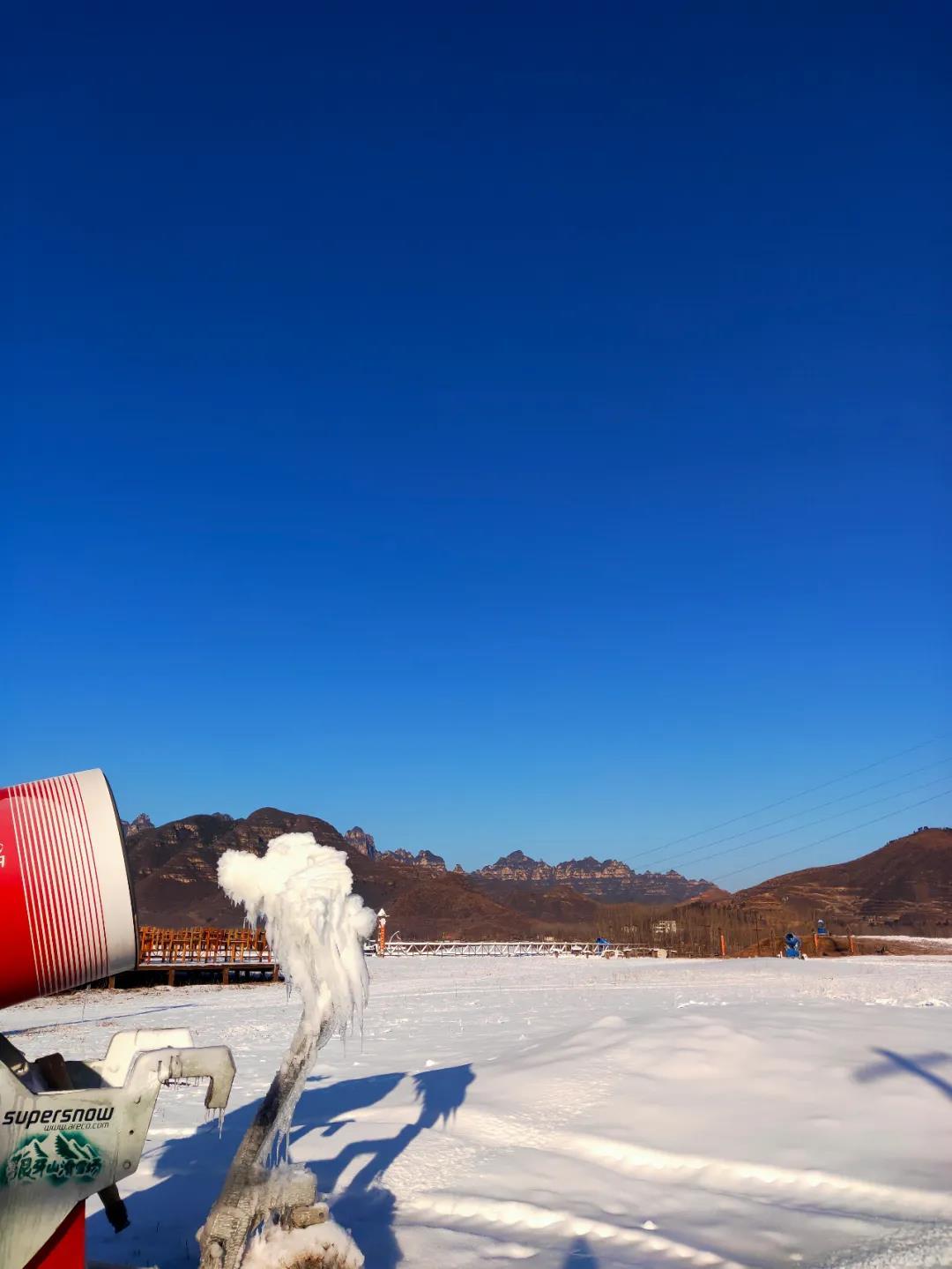 狼牙山滑雪场12月18日开园!试滑期门票70元!  第4张