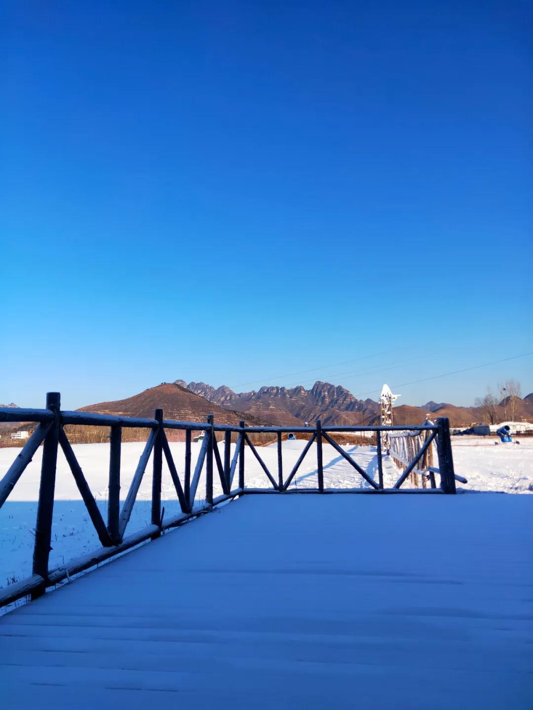 狼牙山滑雪场12月18日开园!试滑期门票70元!  第3张