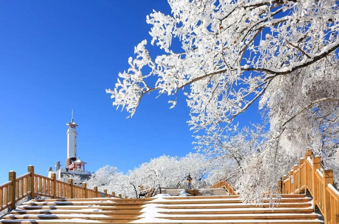 狼牙山冬季美景欣赏  第2张