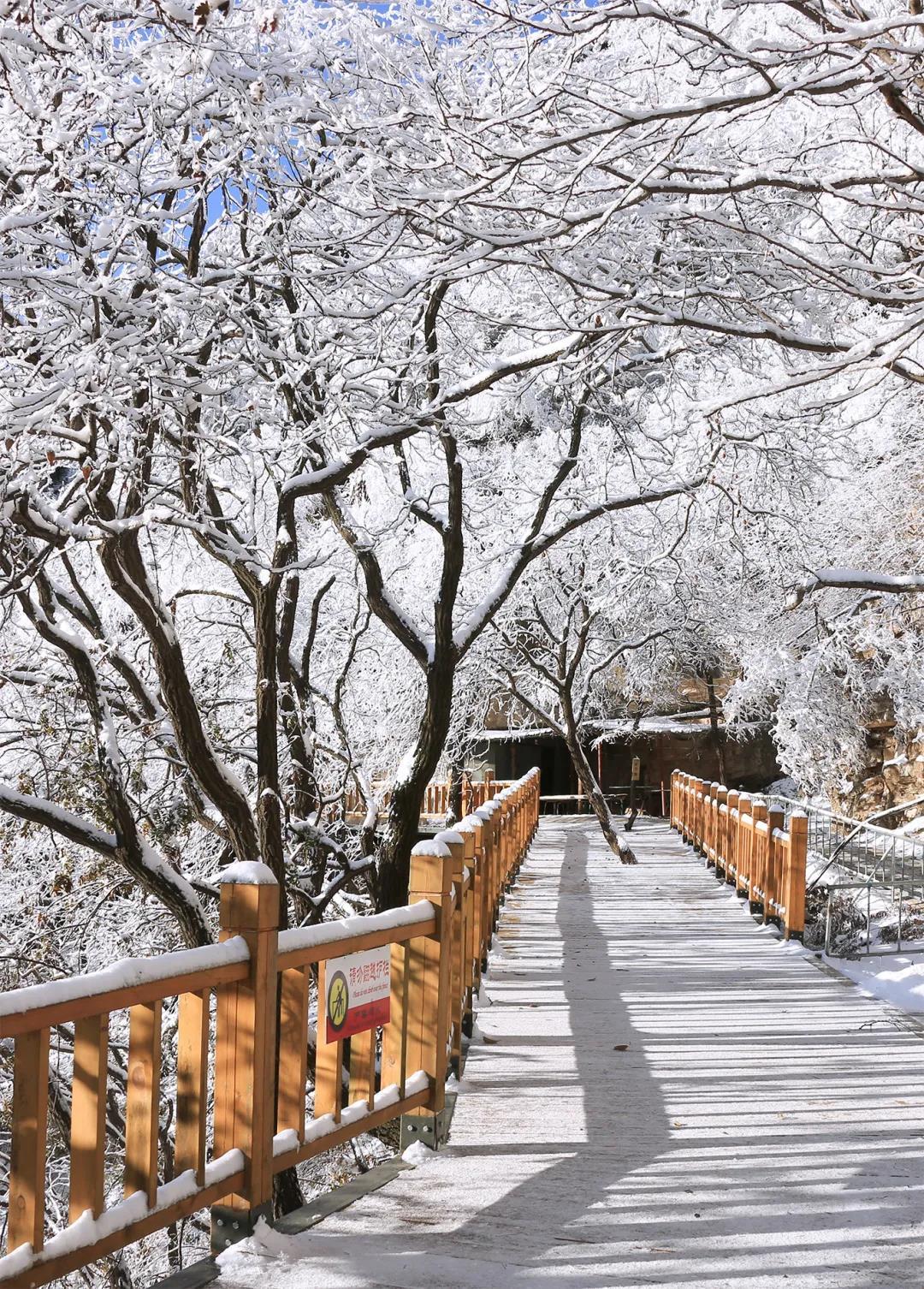 狼牙山冬季美景欣赏