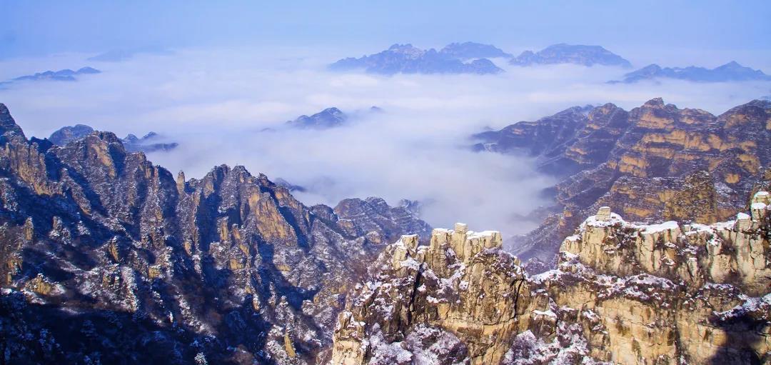 狼牙山冬季美景欣赏  第5张