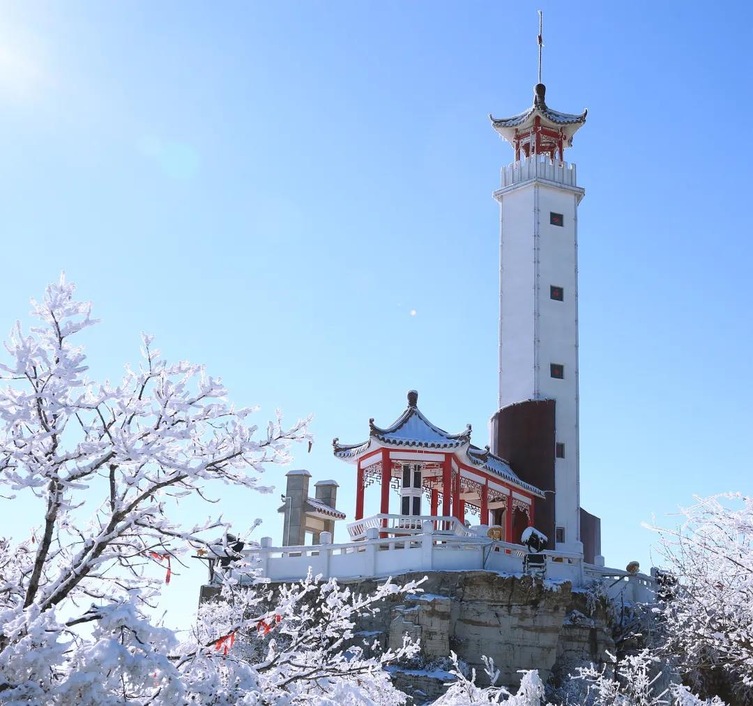 狼牙山冬季美景欣赏  第4张