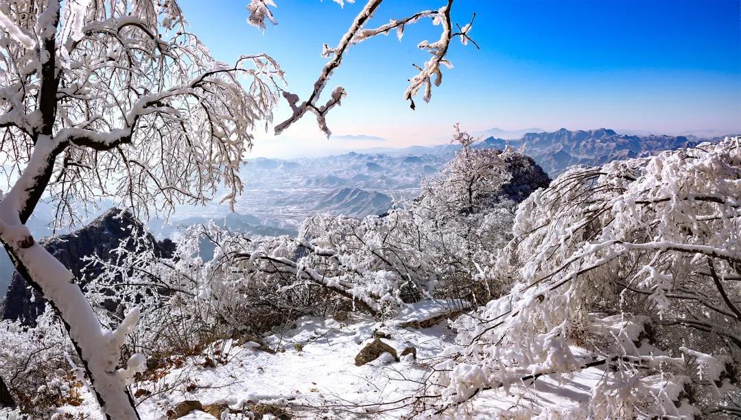 狼牙山冬季美景欣赏  第3张