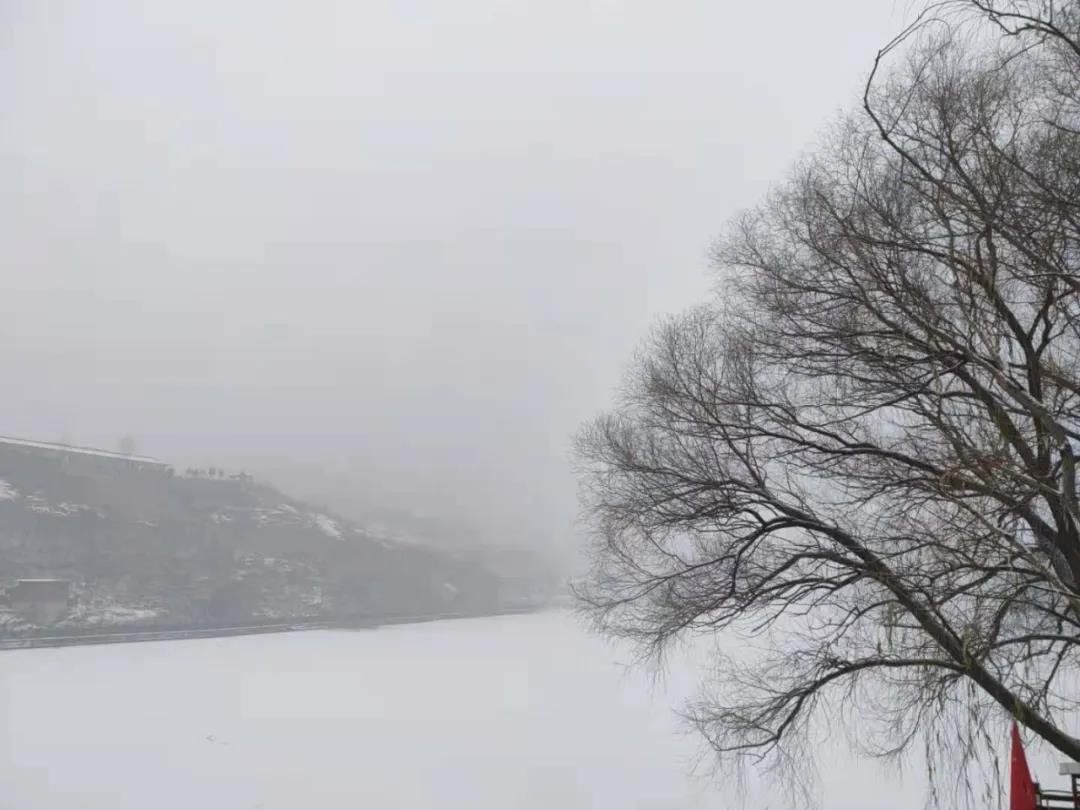 庆都山雪景图片  第13张