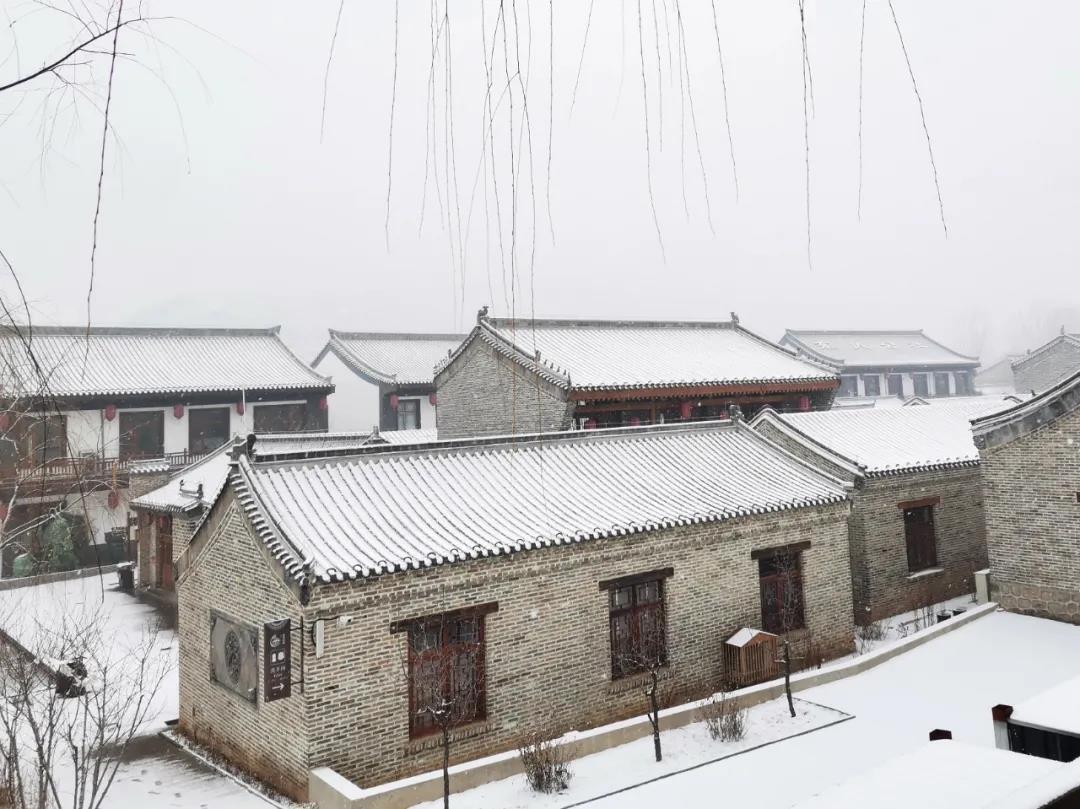 庆都山雪景图片  第11张