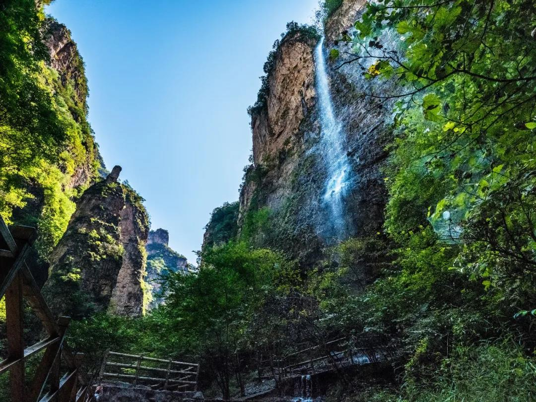 野三坡故事:景观奇绝,海棠峪的由来  第1张