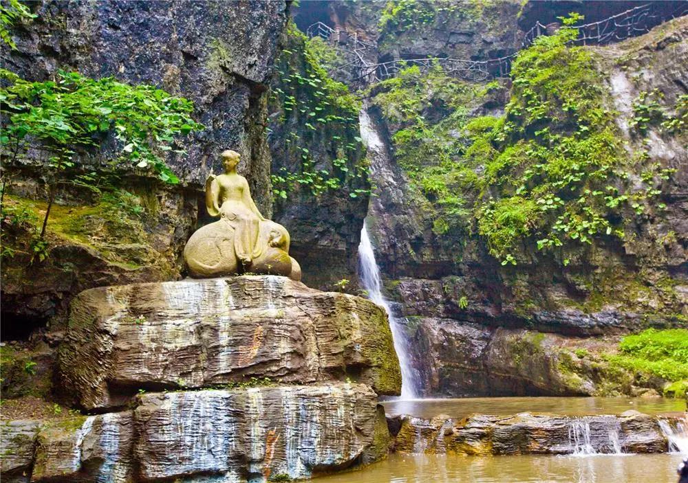 野三坡故事:景观奇绝,海棠峪的由来  第2张