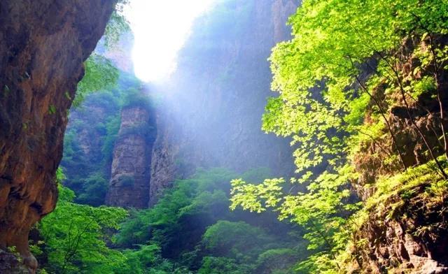 野三坡故事:景观奇绝,海棠峪的由来  第3张